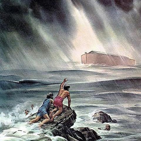 دلیل این شباهت بین داستان طوفان نوح در تورات با اساطیر سومری